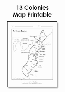 13 Colonies Map Worksheet Luxury Tim Van De Vall Ics & Printables for Kids