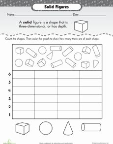 2 Dimensional Shapes Worksheet Elegant 1000 Images About 3d Shapes On Pinterest