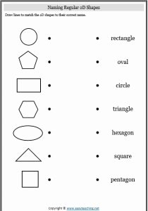 2 Dimensional Shapes Worksheet Lovely Gallery 2d and 3d Shapes Worksheet Drawings Art Gallery