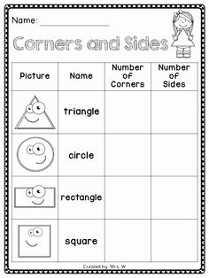 2 Dimensional Shapes Worksheet Luxury Image Result for 2d Shape sort Cut and Paste Free