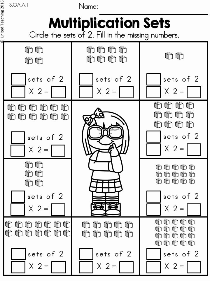 2 Times Table Worksheet Unique Multiplication Worksheets 2 Times Tables