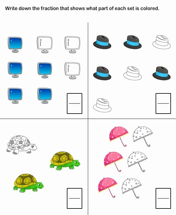 2nd Grade Fractions Worksheet Beautiful 20 Best Fractions Worksheets Images On Pinterest