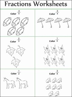 2nd Grade Fractions Worksheet Fresh Coloring Shapes the Fraction 1 2