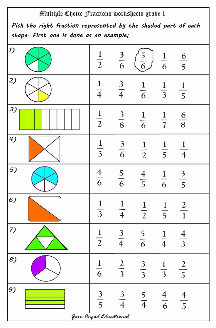 2nd Grade Fractions Worksheet New 17 Best Ideas About Fractions Worksheets On Pinterest