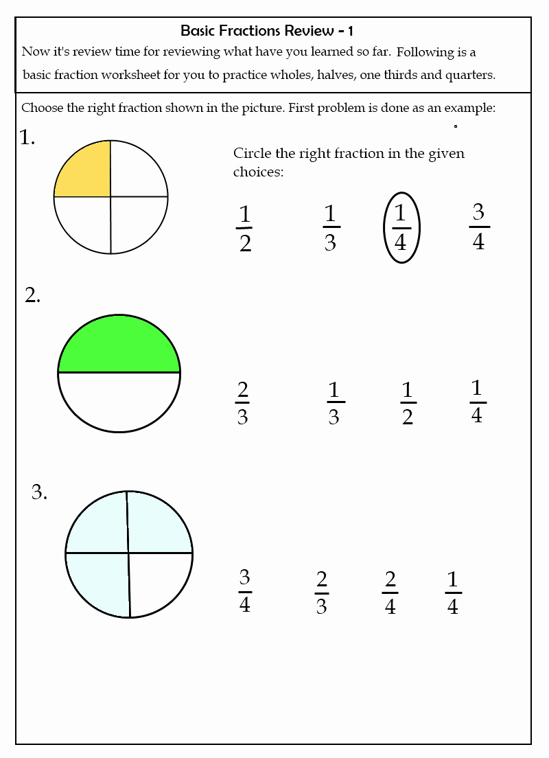 2nd Grade Fractions Worksheet Unique Worksheets