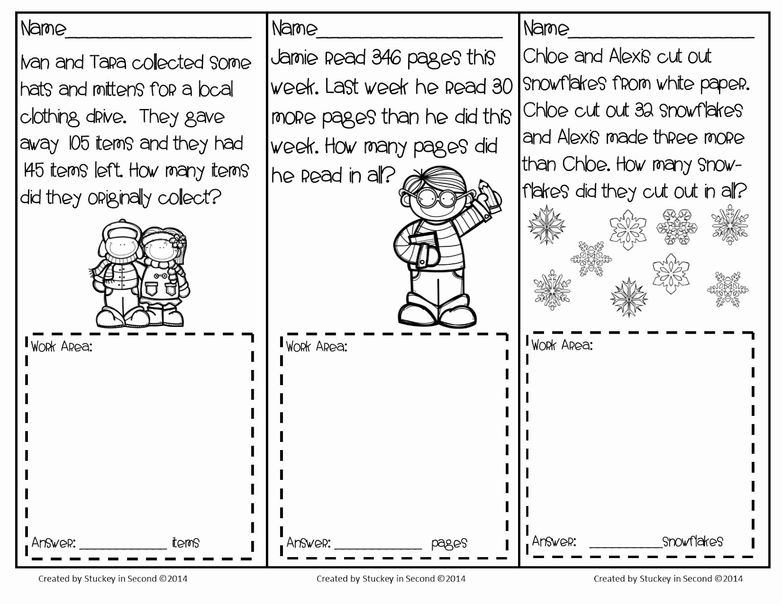 2nd Grade Geometry Worksheet Inspirational Problem solving In 2nd Grade