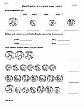 2nd Grade Math Worksheet Pdf Fresh 2 Md 8 Money 2nd Grade Mon Core Math Worksheets 1st