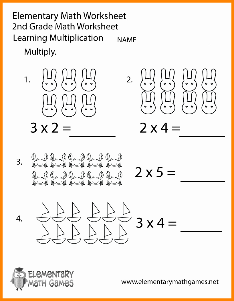 2nd Grade Math Worksheet Pdf Lovely 2nd Grade Math Worksheets Pdf Math Worksheet for Kids