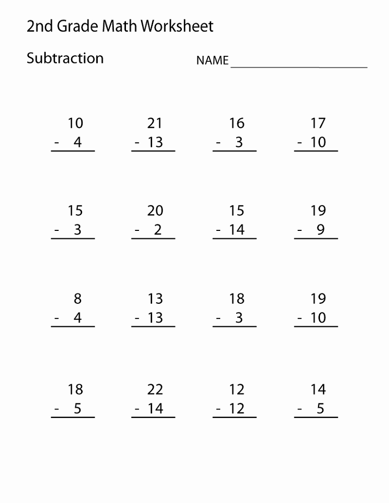 2nd Grade Math Worksheet Pdf New Free 2nd Grade Math Worksheets