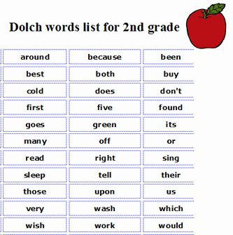 2nd Grade Sight Words Worksheet Inspirational New 189 Sight Word Off Worksheet