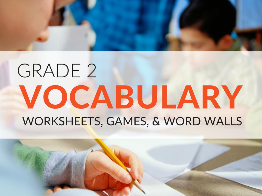 2nd Grade Vocabulary Worksheet Beautiful 2nd Grade Vocabulary Worksheets Games and Resources