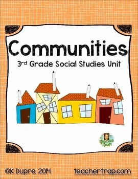 3rd Grade social Studies Worksheet Elegant 25 Best Ideas About Munities Unit On Pinterest