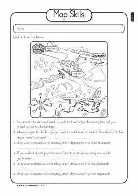 3rd Grade social Studies Worksheet Fresh Map Skills Worksheet social Stu S