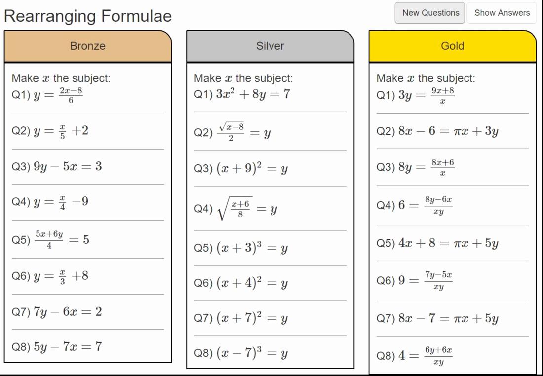4.4 Biomes Worksheet Answers Luxury Maths Mr Mccausland S Maths Resources