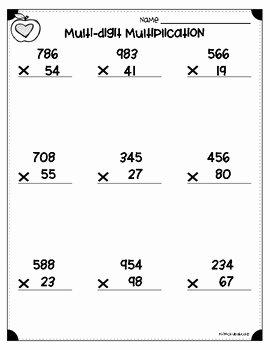 4 Nbt 1 Worksheet Awesome Multi Digit Multiplication Worksheets 4 Nbt B 5 & 5 Nbt B