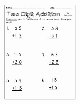 4 Nbt 1 Worksheet New 2nbt5 1nbt4 Two Digit Addition within 100 by the Cutesy