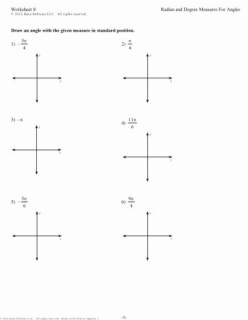 5.8 Special Right Triangles Worksheet Awesome Angles are Measured In Degrees Minutes and Seconds why