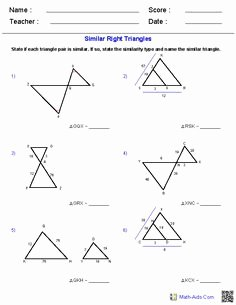 5.8 Special Right Triangles Worksheet Beautiful Rotations Worksheets Math Aids