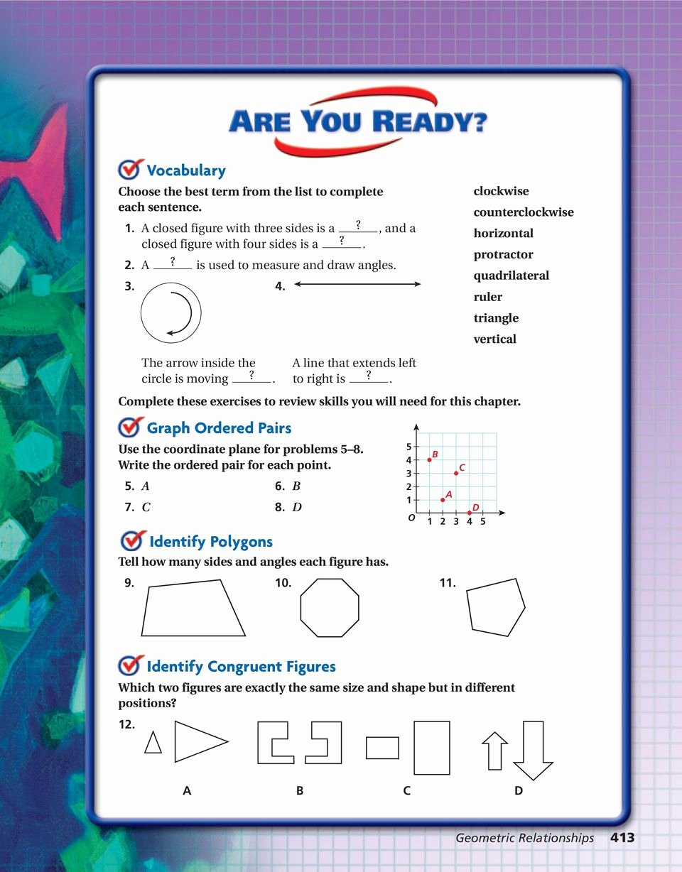 5.8 Special Right Triangles Worksheet Fresh Geometric Relationships Pdf
