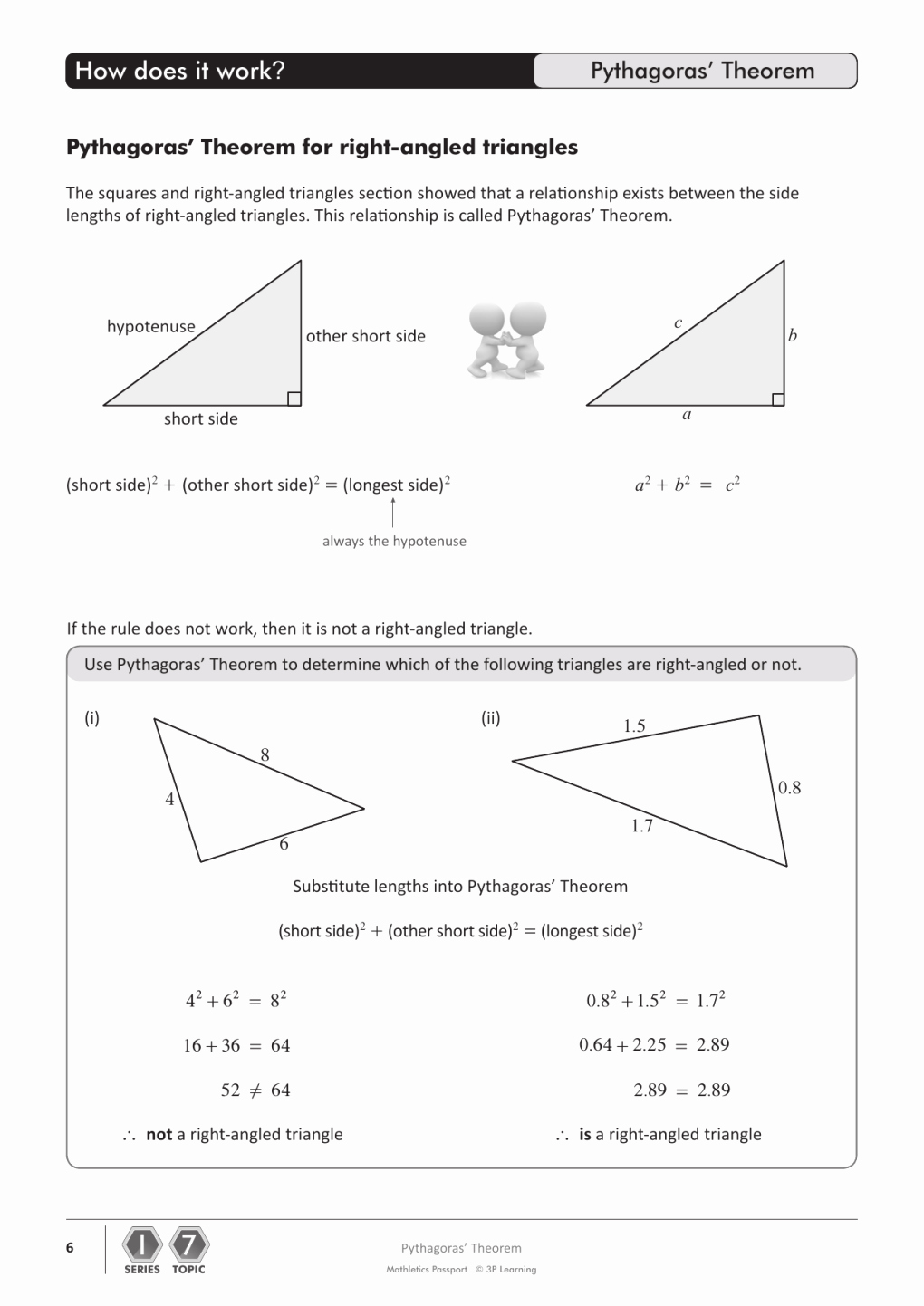 5.8 Special Right Triangles Worksheet New Pythagorean theorem Day Kids Math Blog