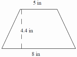 5.8 Special Right Triangles Worksheet Unique area Of A Trapezoid