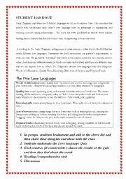 5 Love Languages Worksheet Beautiful 5 Languages Of Love Esl Worksheet by Rhama1
