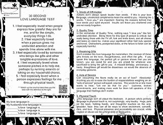5 Love Languages Worksheet Best Of Titus 2 Women Love Language Test Printable