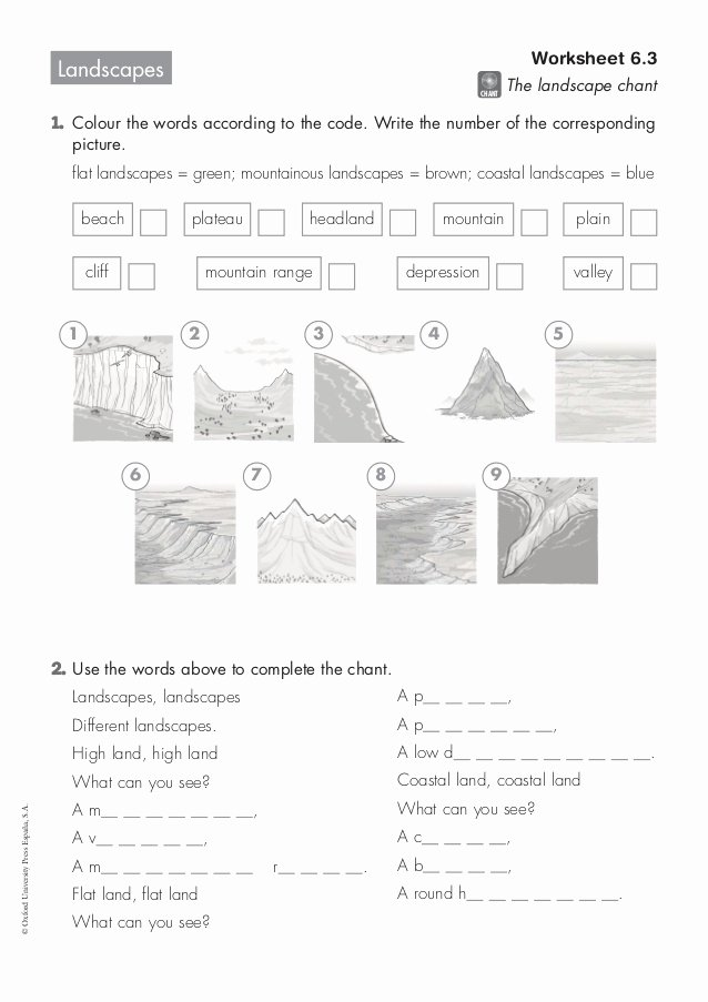 6.3 Biodiversity Worksheet Answers Beautiful Landscapes Worksheet 6 3