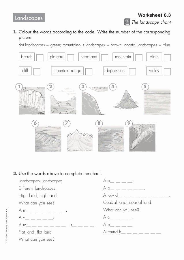 6.3 Biodiversity Worksheet Answers Beautiful Landscapes Worksheet 6 3
