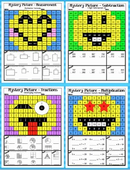 6.3 Biodiversity Worksheet Answers Elegant Emoji Math Mystery 3rd Grade Math Skills by Math