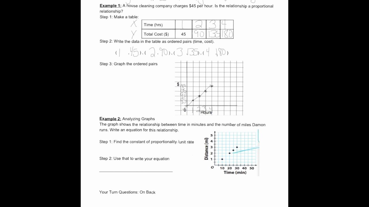 6.3 Biodiversity Worksheet Answers Luxury Lesson 4 3 Proportional Relationships and Graphs