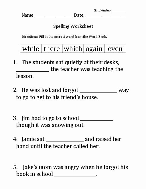 6th Grade Spelling Worksheet Best Of 12 Best Of 7th Grade Spelling Words Printable