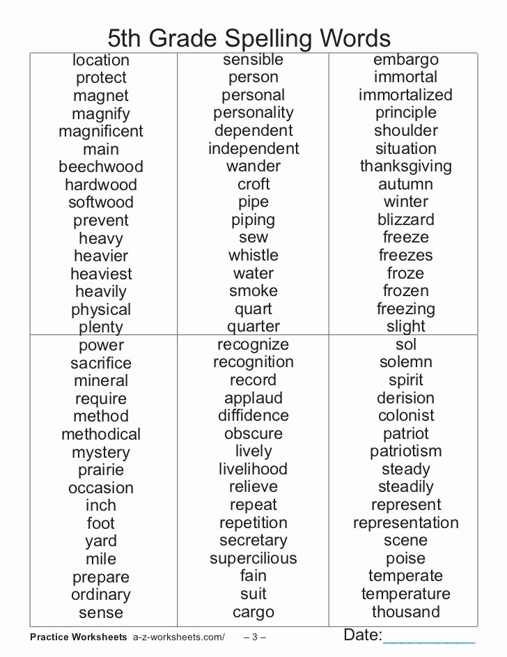 6th Grade Spelling Worksheet Unique 55 Best Kids Need to Know Images On Pinterest