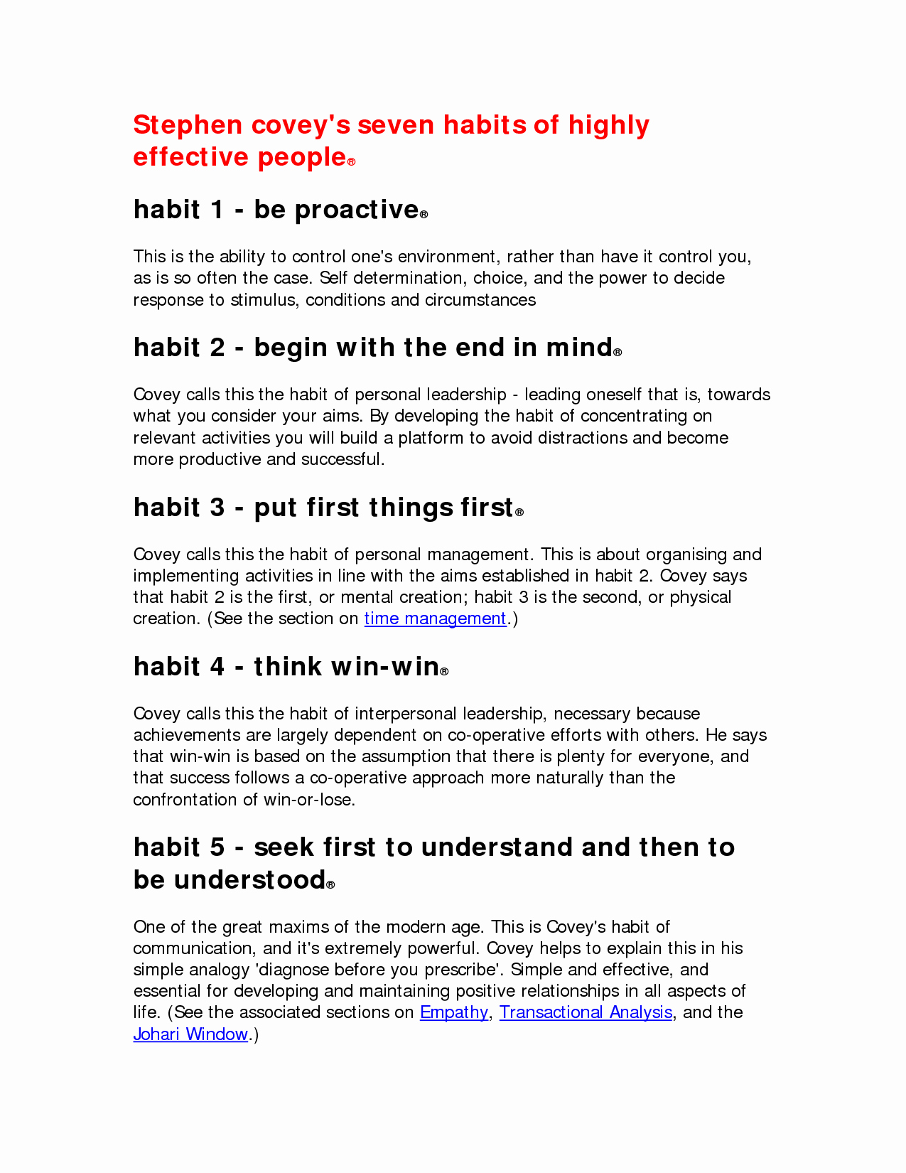 7 Habits Worksheet Pdf Awesome Other Worksheet Category Page 504 Worksheeto