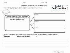 7 Habits Worksheet Pdf Luxury 1000 Images About 7 Habits On Pinterest