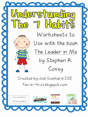 7 Habits Worksheet Pdf New 7 Habits Of Highly Effective People School