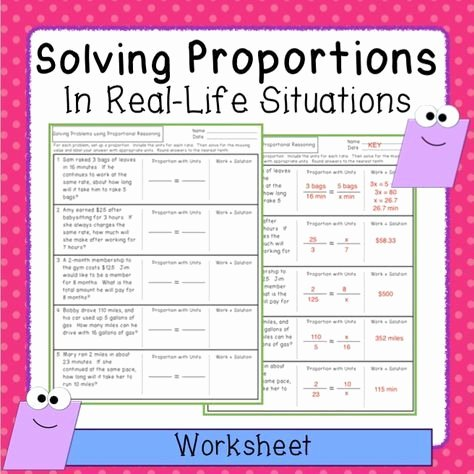 7th Grade Proportions Worksheet Awesome Proportions Word Problem Worksheet Freebie