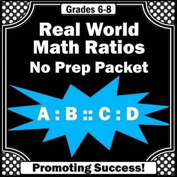 7th Grade Proportions Worksheet Fresh Real World Ratios and Proportions Worksheets Pre Algebra