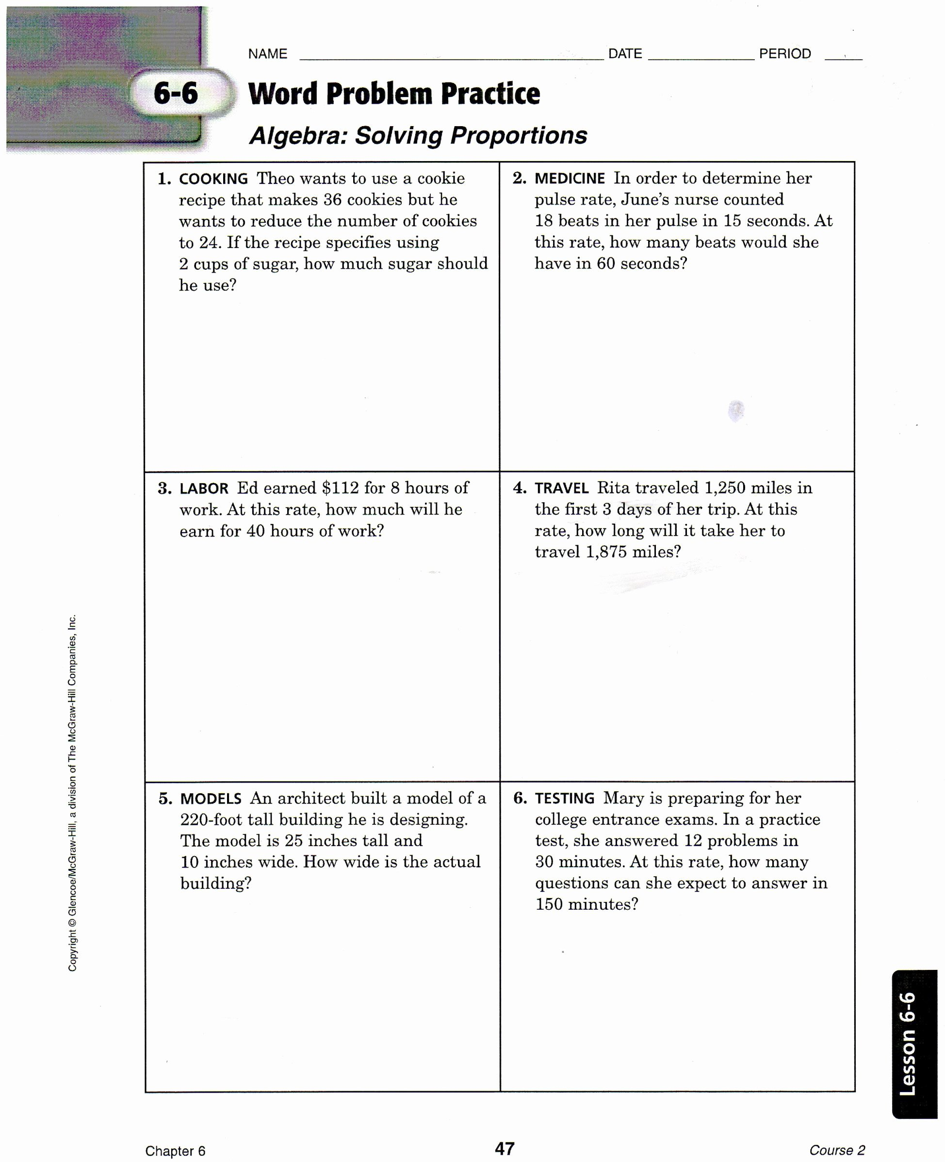 7th Grade Proportions Worksheet Lovely 7th Grade Proportions Worksheet