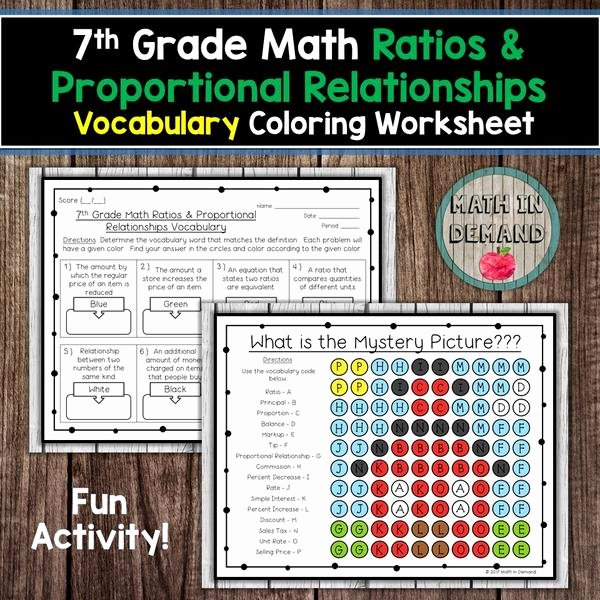 7th Grade Proportions Worksheet Luxury 7th Grade Math Ratios & Proportional Relationships