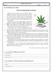 9th Grade Vocabulary Worksheet Awesome Test 9th Grade why Do Young People Use S Esl