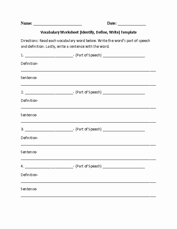 9th Grade Vocabulary Worksheet Luxury 17 Best Of Matching Worksheet Template Pdf