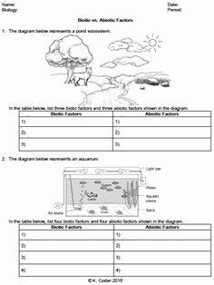 Abiotic and Biotic Factors Worksheet Best Of Ecology Biotic and Abiotic Factors Worksheet Google