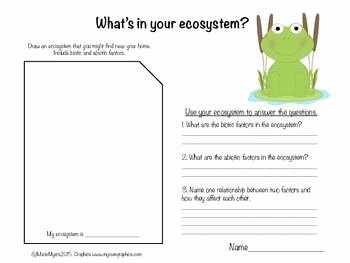 Abiotic Vs.biotic Factors Worksheet Answers Elegant Biotic and Abiotic Factors In Ecosystems