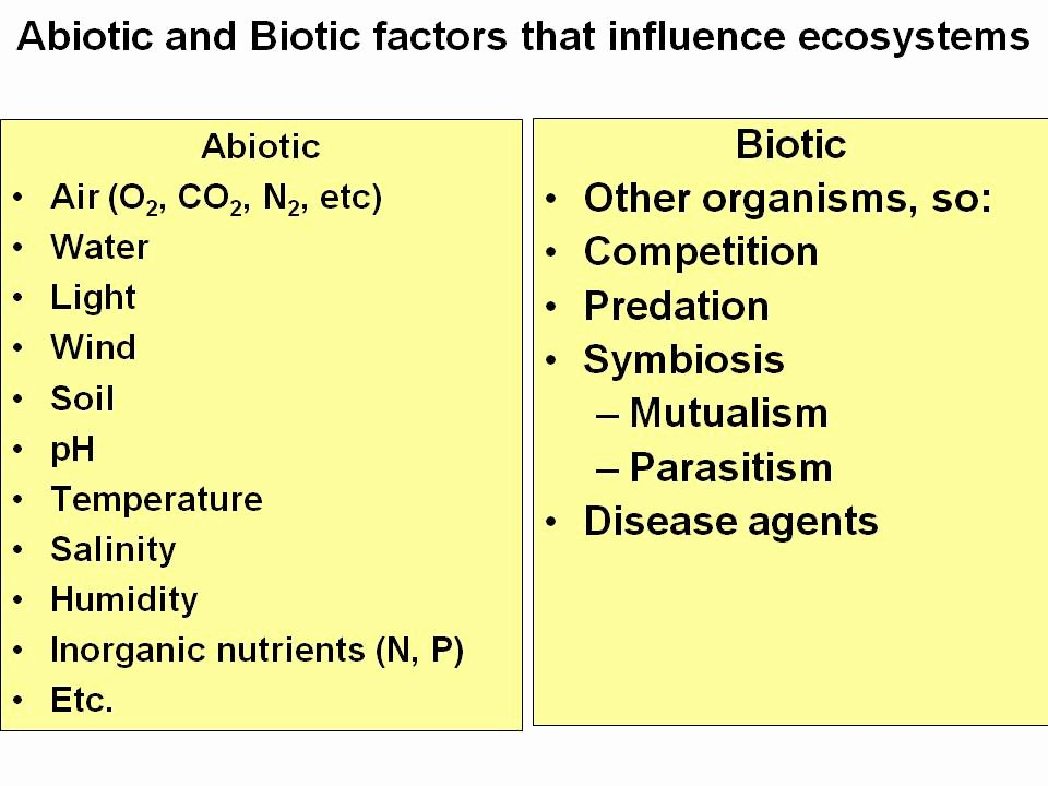 Abiotic Vs.biotic Factors Worksheet Answers Unique Ecology Elabbook Wghs Junior Science