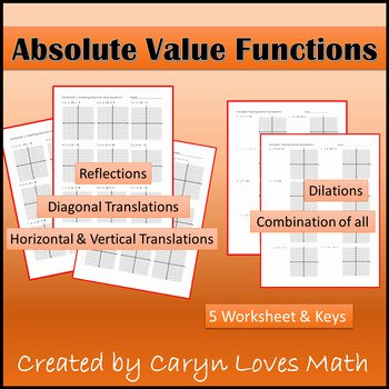 Absolute Value Function Worksheet Fresh Graphing Absolute Value Practice Worksheet Key Shifting