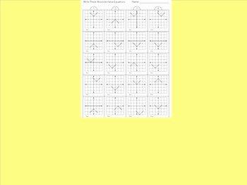 Absolute Value Function Worksheet Inspirational Absolute Value Equations Worksheet 2 by Kevin Wilda