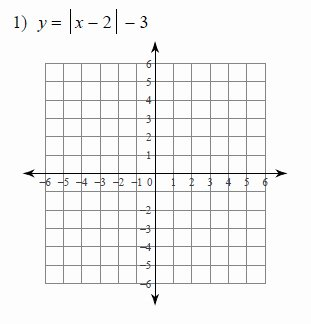 Absolute Value Function Worksheet New Graphing Absolute Value Equations Worksheets