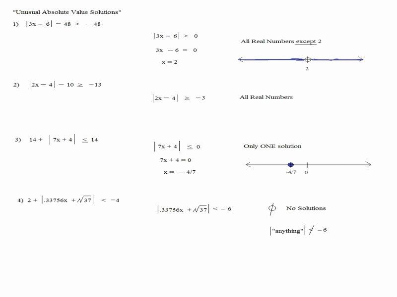 Absolute Value Inequalities Worksheet Lovely Absolute Value Worksheet Pdf Free Printable Worksheets