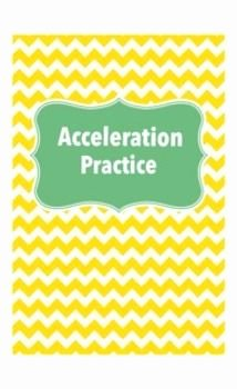 Acceleration Practice Problems Worksheet Unique the Runner Worksheets and Runners On Pinterest